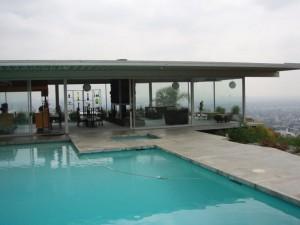 A Stahl House hoje, foto obtida na Wikipedia.
